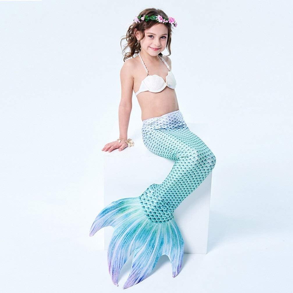 Amazon.com: Maryyun cola de sirena para nadar para niños ...