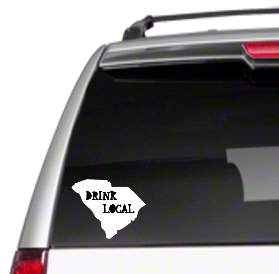 Drink Local SC Car Vinyl Decal Sticker ipa support brew craft love gift *I25*
