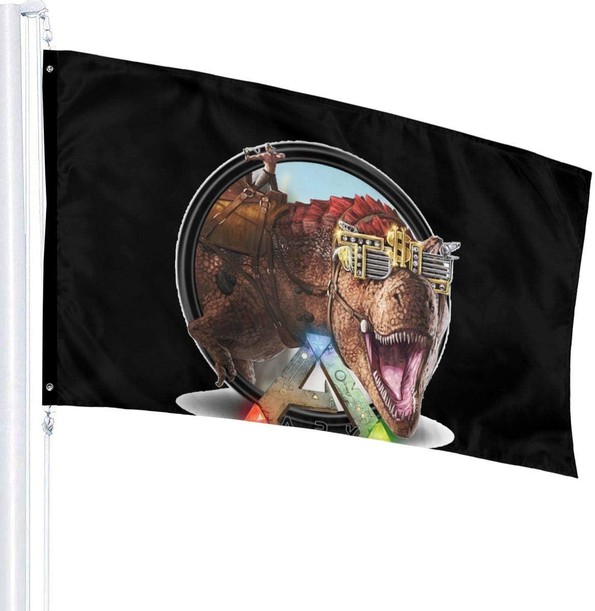 Bandera de Ark-Survival Evolved para jardín, 90 x 150 cm ...