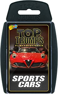 Sports Cars Top Trumps Card Game