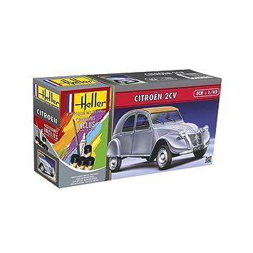 Outletdelocio. Heller 56175. Maqueta Coche Citroen 2CV. Kit ...