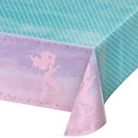 Creative Party PC336720 - Mantel de plástico con diseño de Sirena (1 Unidad)