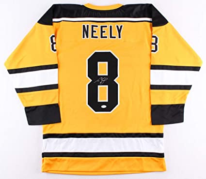 more photos 8bc22 af8c8 Cam Neely Autographed Yellow Boston Bruins Jersey - Hand ...