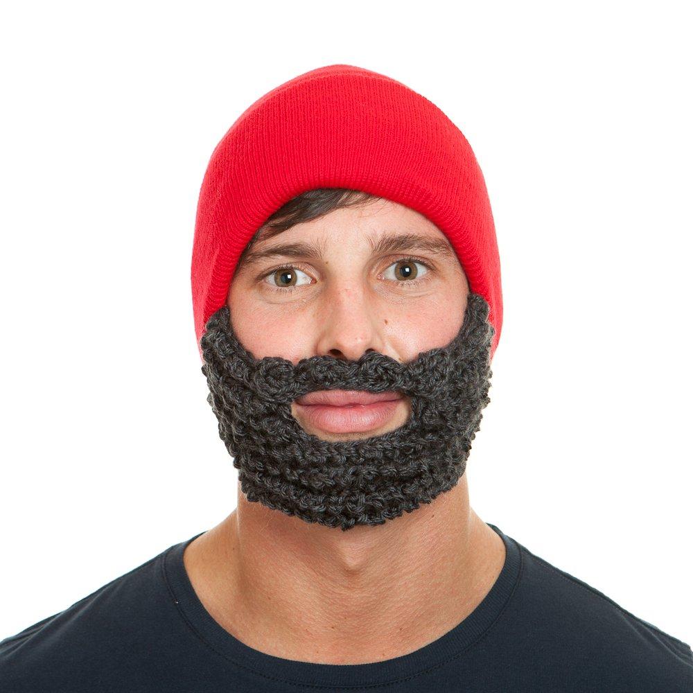 20481e63a824b Amazon.com  The Original Beard Beanie Lumberjack Style-Olive Ginger  Sports    Outdoors