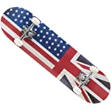 """8"""" x 31""""Complete Skateboard Canadian Maple Wood Double Kick Concave Skateboards, Tricks Skate Board for Beginners and Pro"""
