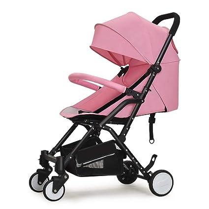 LAZ Cochecito de bebé ligero, plegable, cómodo para viajar ...