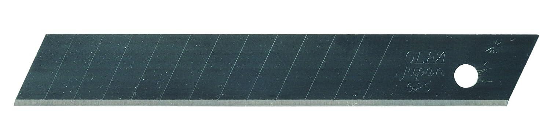 Olfa 302101 10 Cuchillas troceables Ultra Flexibles de 85x12,5x0,25 mm para cú ter FWP-1, Set Piezas 25 mm para cúter FWP-1 FWB-10
