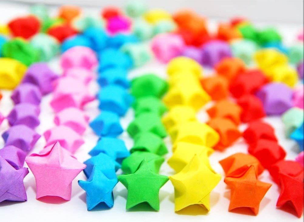 27 colori stelle di carta origami /Pacchetto striscia di carta stella origami 1350 strisce