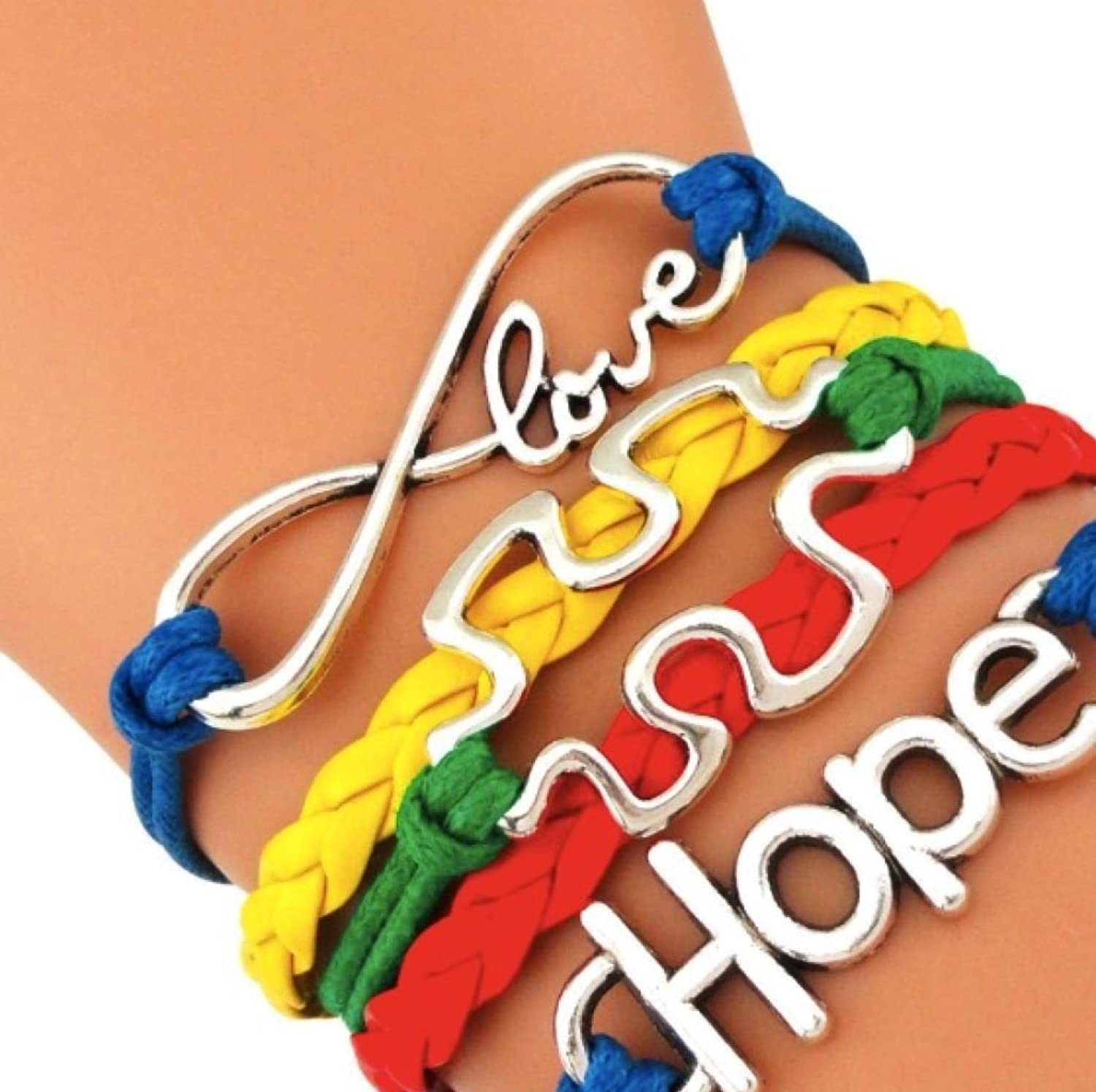 stretch autism product bracelet awareness cord