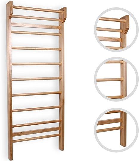 Nova - Escalera de Madera para niños y Adultos - 195 x 80 x 14 cm ...