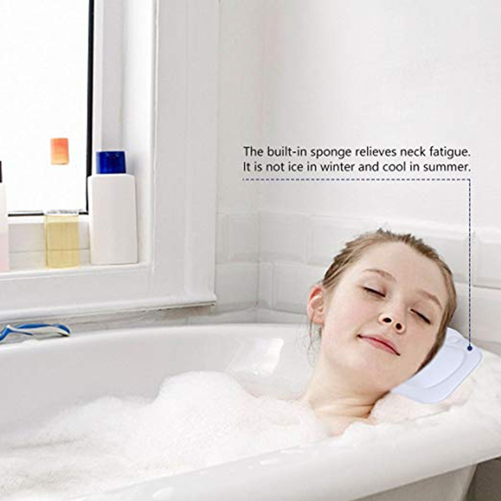SPA Ba/ño SPA Almohada Premium Impermeable Almohada de Ba/ño Almohada Almohada Antideslizante Ventosas Ergon/ómico Home SPA Reposacabezas FJROnline Almohada de ba/ño