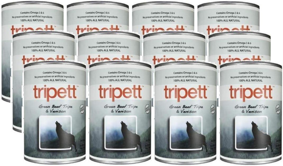 New Zealand Venison Tripe Wet Dog Food Size: 13-oz,case of 12