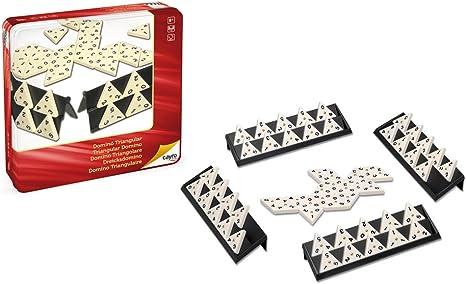 Cayro - Dominó triangular en caja de metal - Juego tradicional ...