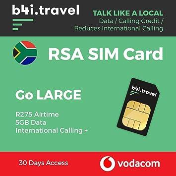 Carte Sim Afrique Du Sud.Vodacom Carte Sim Prepayee Afrique Du Sud Par Vodacom