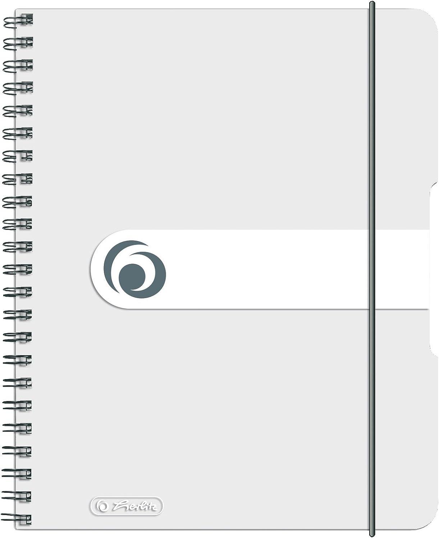 80h. 80h. Easy Orga to Go neutro transparente Cuaderno espiral A5 PP Cuaderno espiral A5 PP