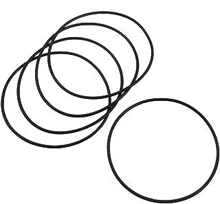 Sourcingmap a12092600ux0647-5pezzi di tenuta in gomma 70mm x 2 millimetri filtro dell'olio o anelli di guarnizioni