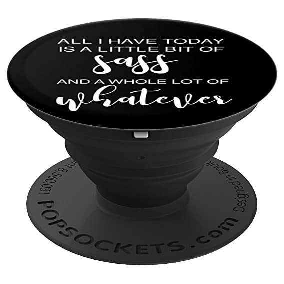 Enjoyable Funny Sassy Saying Sarcastic Quote Text On Black Popsockets Grip And Stand For Phones And Tablets Beutiful Home Inspiration Ommitmahrainfo
