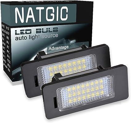 ngcat LED 3528 24 SMD Bombilla licencia número placa lámparas de ...