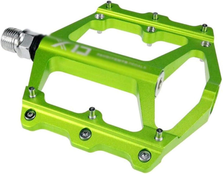 WOOAI XD CNC Pedales de Bicicleta de montaña de aleación de Aluminio Plataformas Planas Antideslizantes MTB BMX Road Pedales de Bicicleta 5 Colores