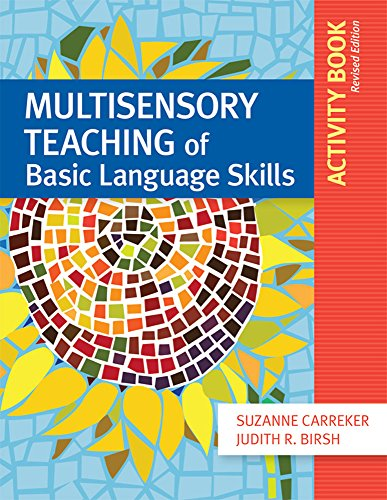 Multisensory Teaching of Basic Language Skills Activity Book, Revised Edition