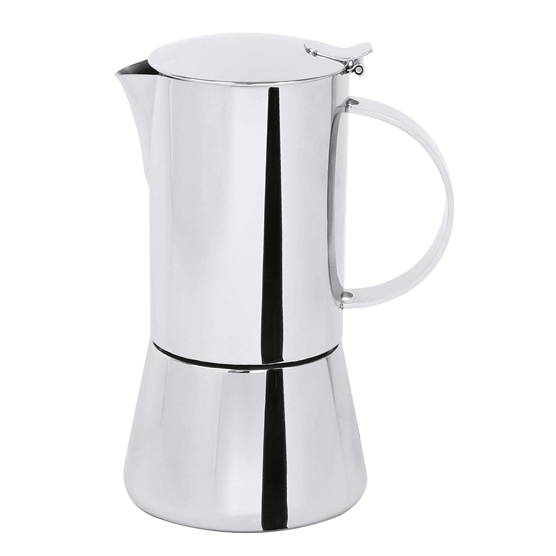 Cristel c6tcb cafetera italiana capri-6 tazas, acero inoxidable ...