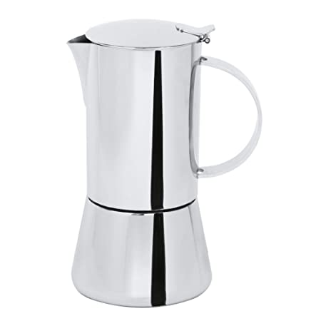 Cristel c6tcb cafetera italiana capri-6 tazas, acero ...
