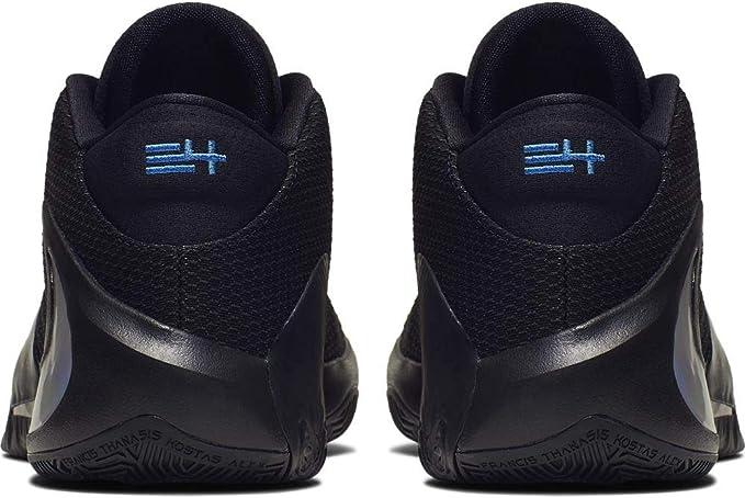 Nike Zoom Freak 1 Basketball Shoes (M10.5/W12, Blk/Multi Color/Photo Blu): Amazon.es: Deportes y aire libre