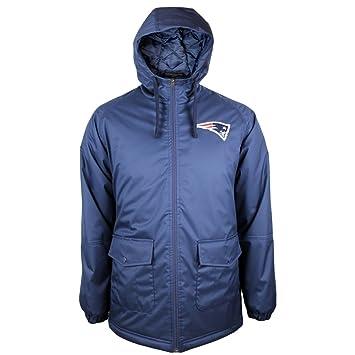 super popular 07d05 dd7d8 New Era New England Patriots 2015 Sideline Parka NFL Jacket ...