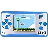 """Niños Consolas de Juegos de Mano Portátil Retro Handheld Game Console 2.5""""LCD HD Pantalla con 168 Classico Nostalgia 80s Viejo Videojuegos Navidad Regalo de Cumpleaños para Chicos Y Propio(Azul)"""