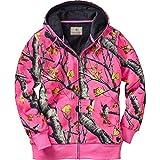 Legendary Whitetails Womens Hideaway Realtree AP Pink Camo Hoodie (Large, Big Game Blaze Pink)