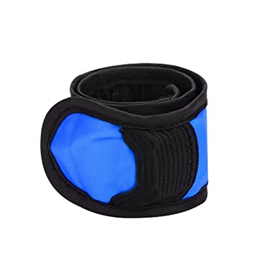 LED FLASHING LIGHT UP GLOW BRACELET WRISTBAND VOCAL CONCERT PARTY PROPS NICE