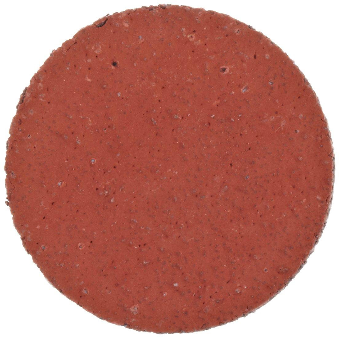 3M Roloc Disc 777F TR, YF Weight Cloth, Ceramic Aluminum Oxide, 1'' Diameter, 80 Grit (Pack of 50)