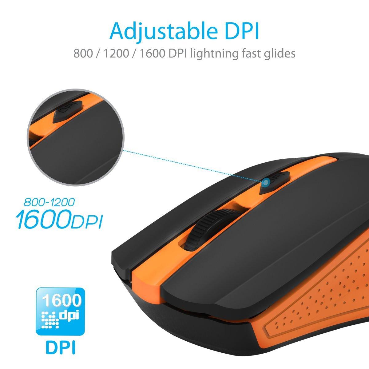 Amazon.in: Buy Portronics POR-597 Arrow Wireless USB mouse ...