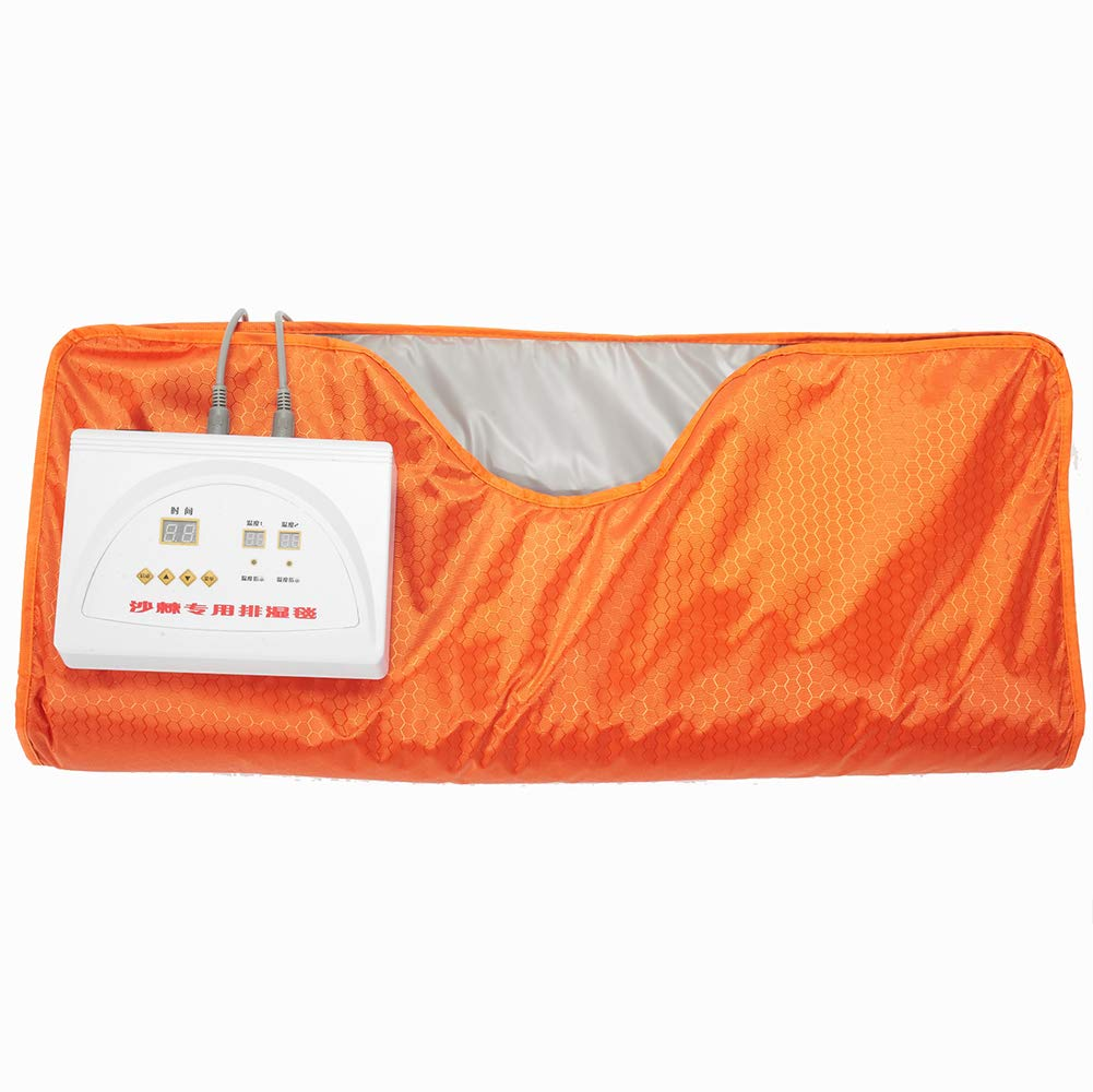 XHH Far-Infrared Heat Sauna Blanket,Professional Anti Ageing Slimming Relieve Physical Fatigue Home Use Salon Spa Beauty Tool