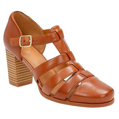 Womens Shoes Clarks Ciera Gull Nutmeg Leather