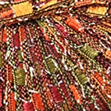 Knitting Fever Dazzle Metallic Ladder Yarn New Color 4 Gold Brown Green Orange