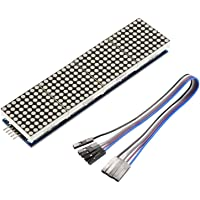 XCSOURCE MAX7219 Dot Matrix Control LED Display Module DIY for Arduino Raspberry Pi 4in1 with 5Pin Cable TE909