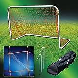 Agora Aluminum Portable Soccer Goal - 4'x6'