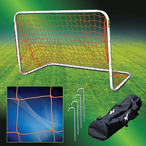 Agora Aluminum Portable Soccer Goal - 4'x6' by AGORA