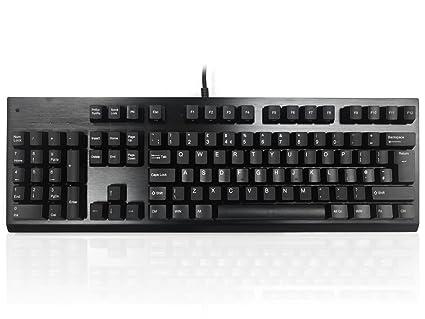 Negro para zurdos programable teclado
