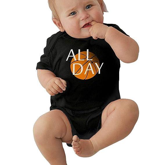 Body de bebé All Day Baloncesto Infantil Niño Escalada Mono de ...