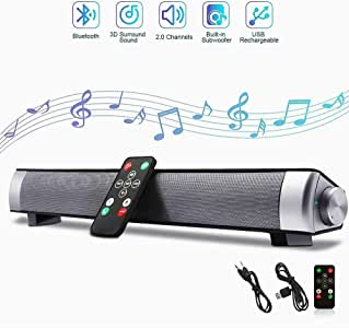 Bluetooth Wireless Surround Sound, Home Theater with Remote Control Stereo 3D High-Definition Bass Speaker for Mobile Phones And Other PC