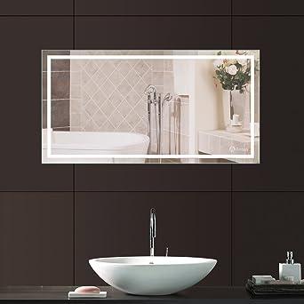 Anten Led Badspiegel 23w 6000k Ip65 Badezimmerspiegel Mit
