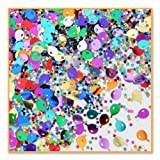 Balloons And Stars Confetti (Pack of 96)