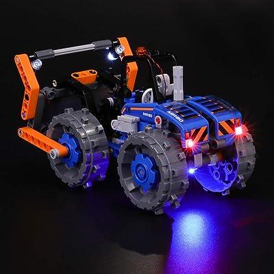 BRIKSMAX Kit de Iluminación Led para Lego Technic Buldócer Compactador-Compatible con Ladrillos de Construcción Lego Modelo 42071, Juego de Legos no Incluido: Juguetes y juegos