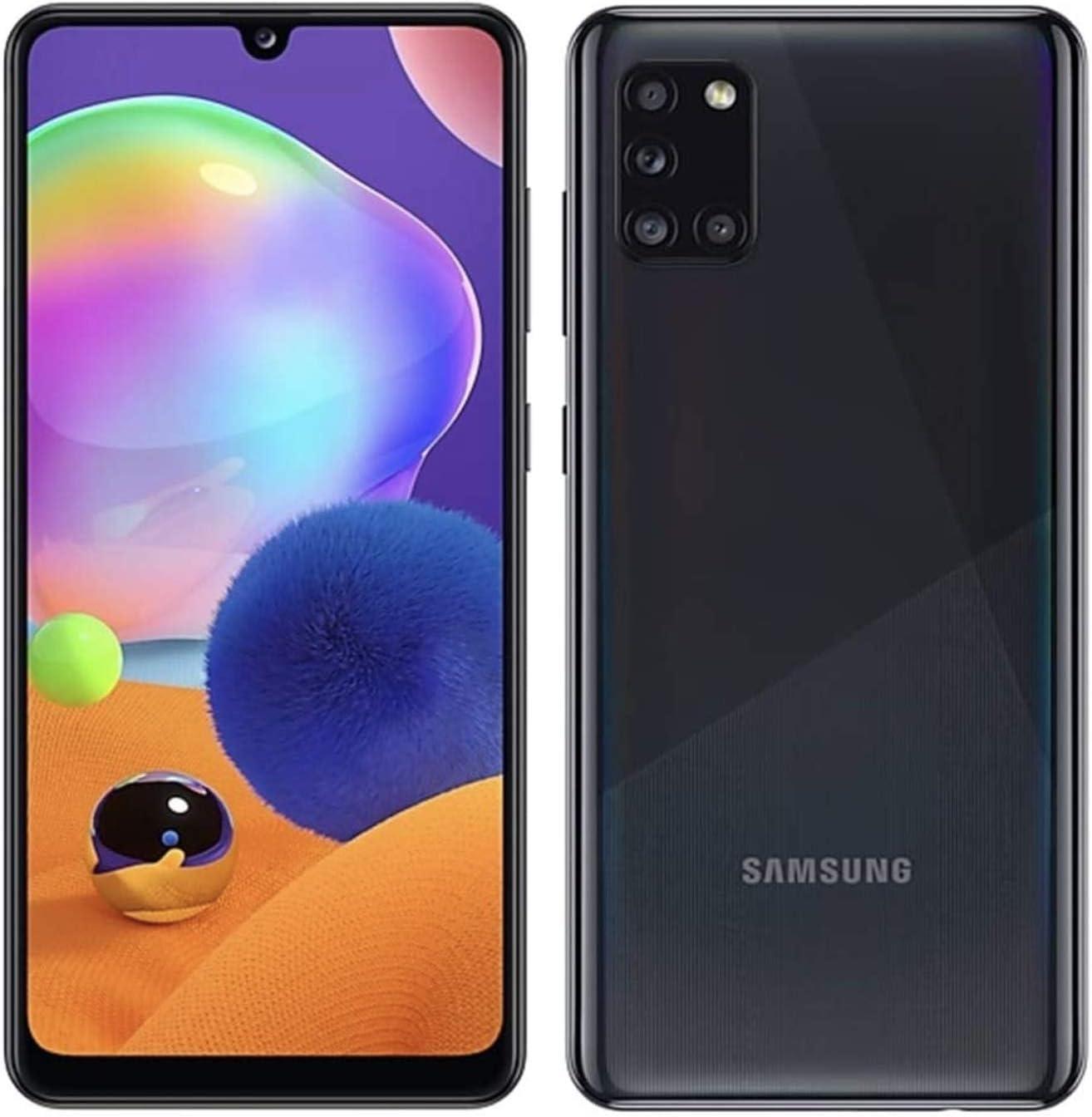 Amazon Com Samsung Galaxy A31 64gb 4gb A315g Dsl Unlocked Dual Sim Phone W Quad Camera 48mp 8mp 5mp 5mp Gsm International Version Prism Crush Black Electronics