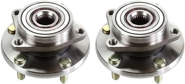 Pair Set 2 Front Timken Wheel Bearing Hub Kit for Chrysler Dodge 4WD 4Wheel ABS