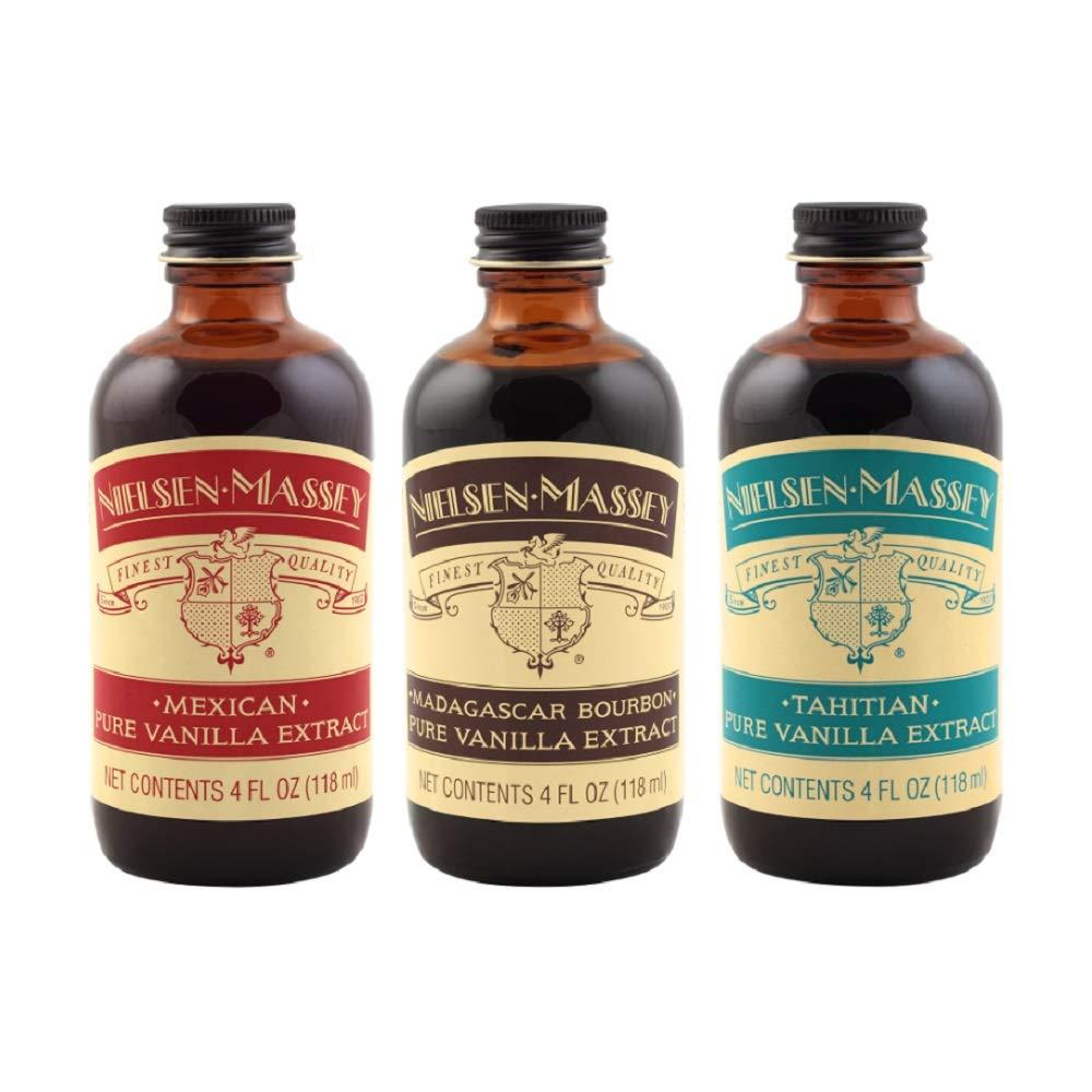 Nielsen-Massey International Vanilla Starter Kit, 4 ounces