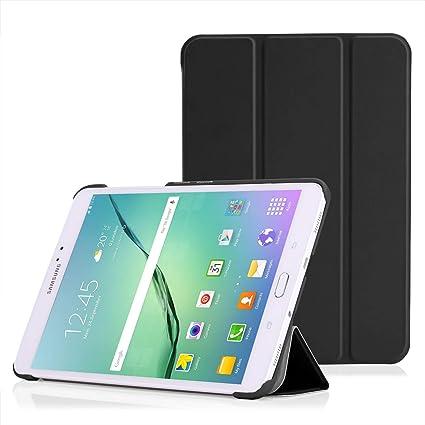 timeless design 79ca6 7ce72 MoKo Ultra Slim Case for Samsung S2 8-inch Tablet (Black)