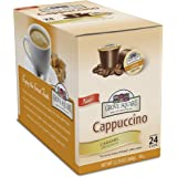 Grove Square Cappuccino Cups, Caramel, Single Serve Cup for Keurig K-Cup Brewers, 24 Count (Pack of 2), Packaging May Vary